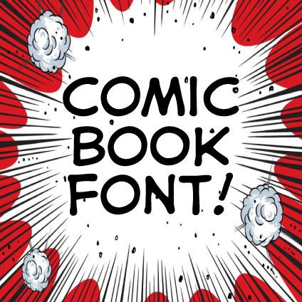 Comic Book Fonts