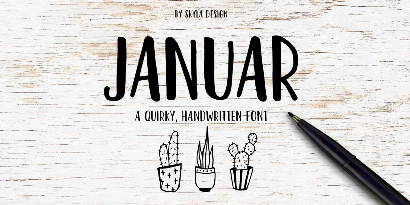 Januar Poster
