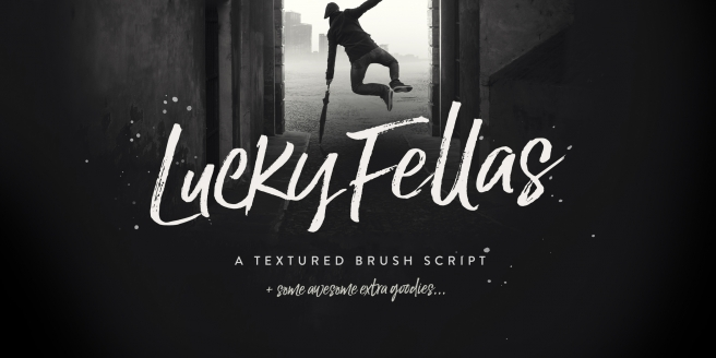 Lucky Fellas Poster