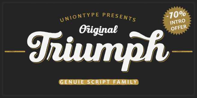 UT Triumph Poster