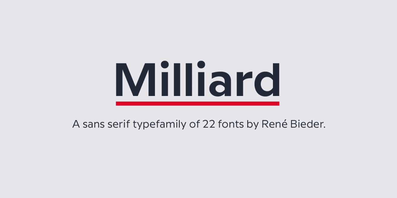 Milliard Poster