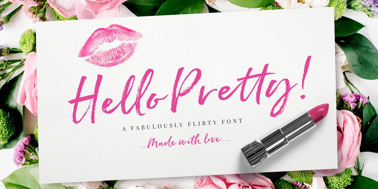 Hello Pretty Poster