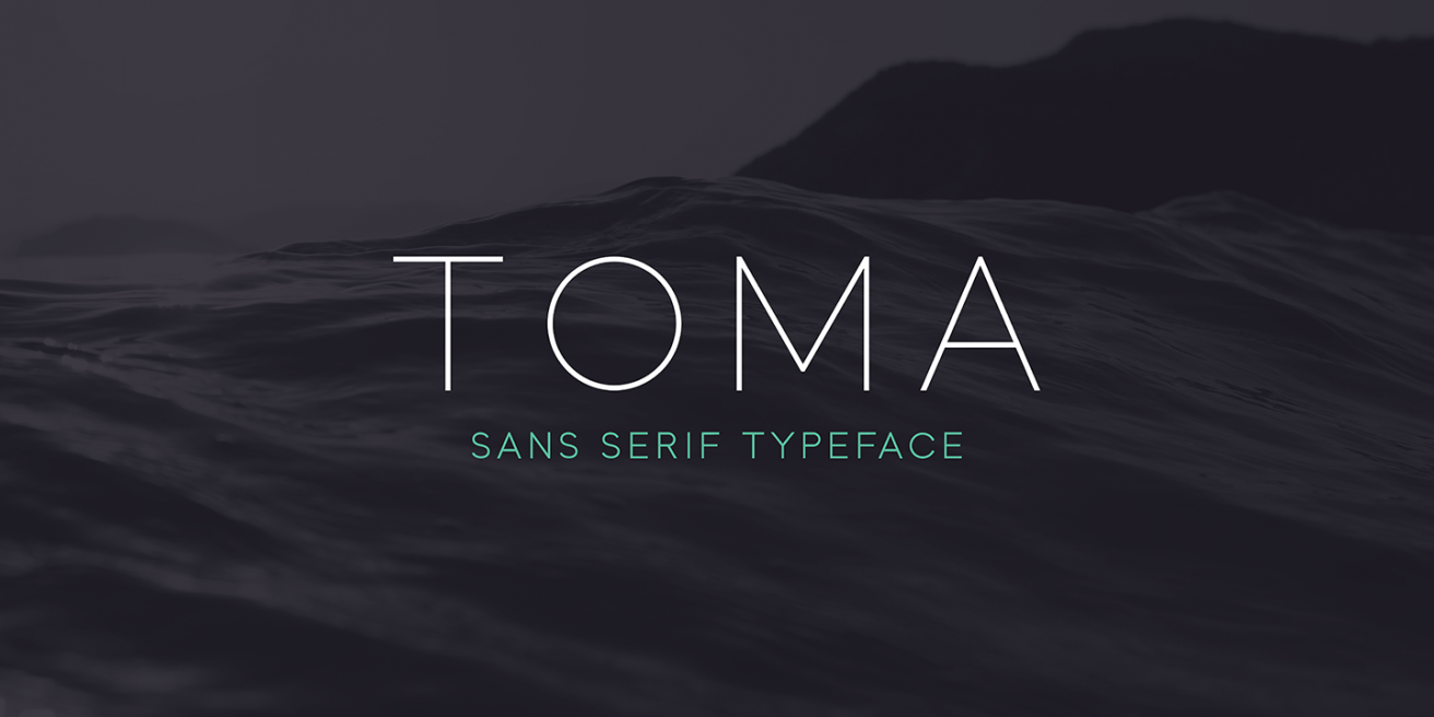 Toma Sans Poster