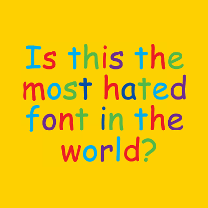 What's Your Take on Comic Sans?