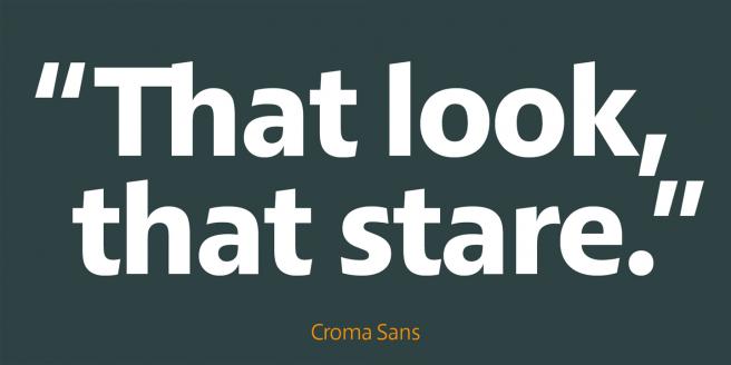 Croma Sans Poster 2