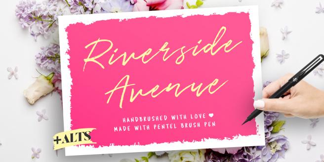 Riverside Avenue Poster