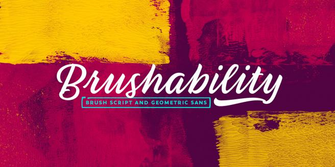 Brushability Poster