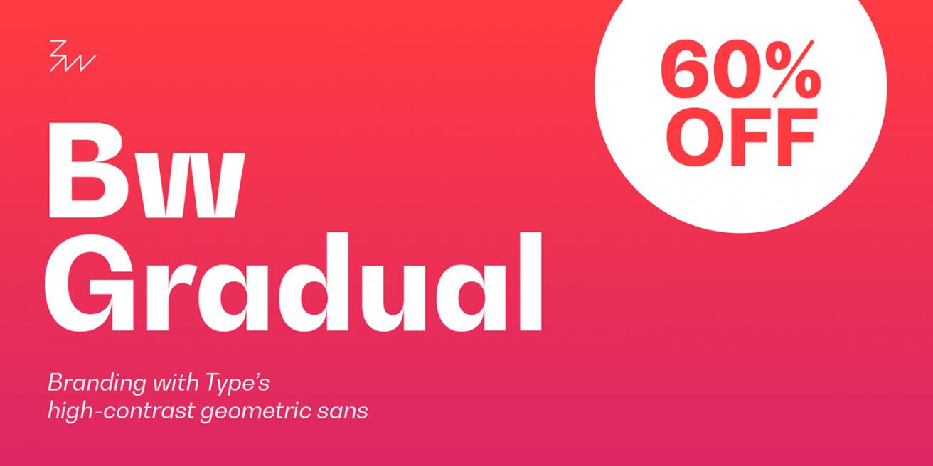 Bw Gradual Poster