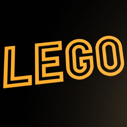 A LEGO Font Competition