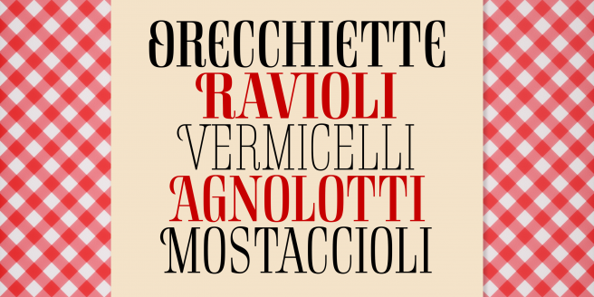Rigatoni Poster2