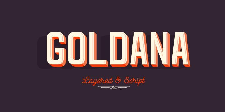 Goldana Poster