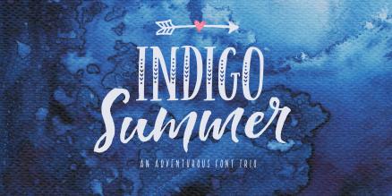 Indigo Summer Poster