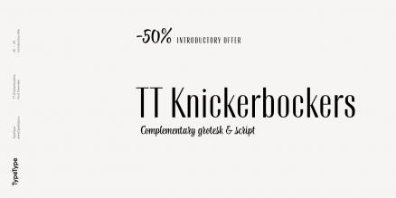 TT Knickerbockers Poster