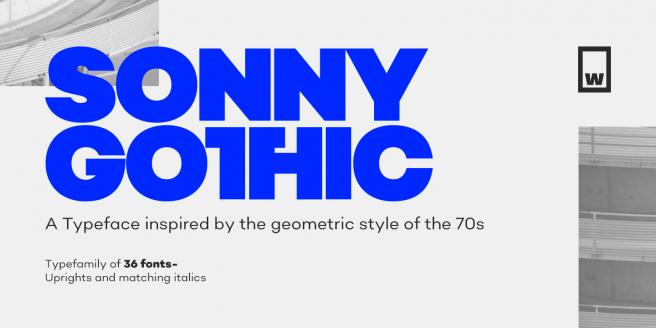 Sonny Gothic Poster