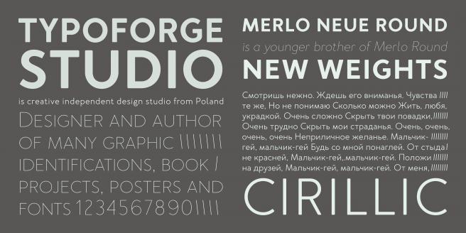 Merlo Neue Round Poster2