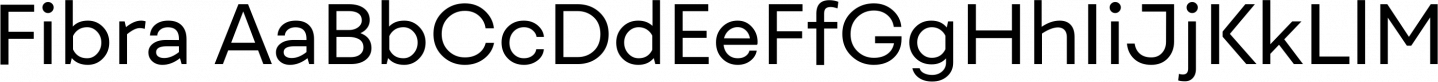 Fibra Sample Text