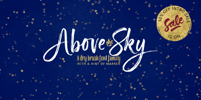 Above The Sky Poster