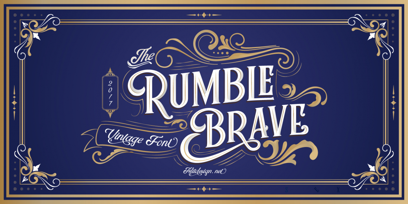 Rumble Brave Poster