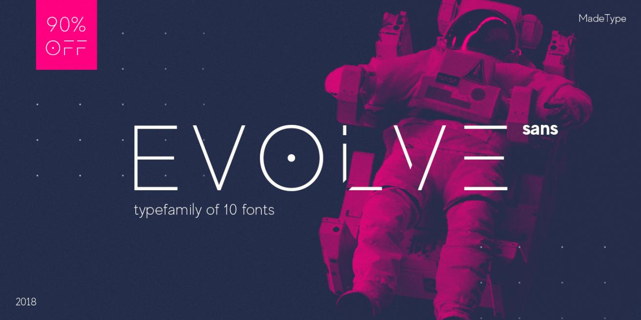 MADE Evolve Sans Poster