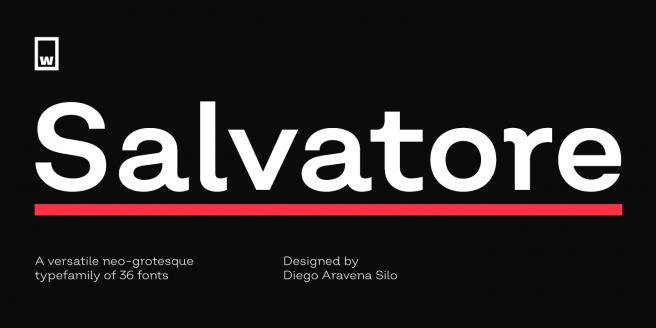 Salvatore Poster