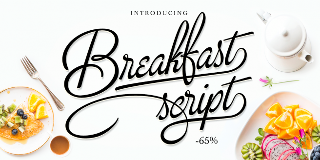Breakfast Script Poster