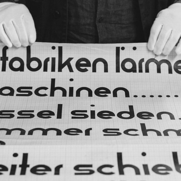 Recovering Lost Bauhaus Fonts
