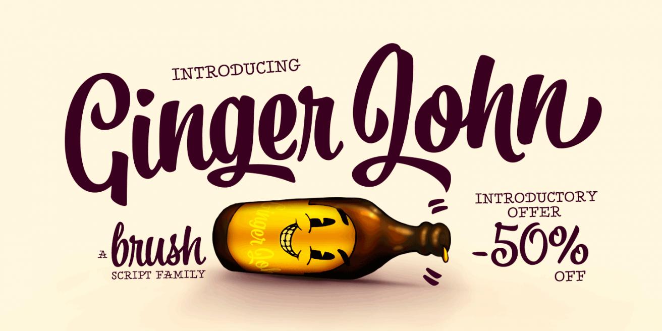 Ginger John Poster