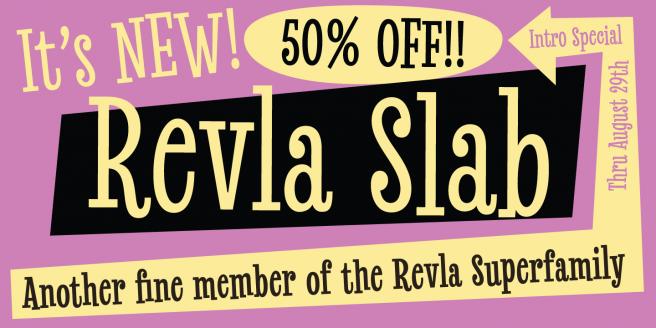 Revla Slab Poster