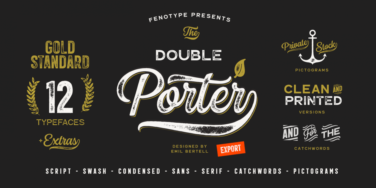 Double Porter Poster