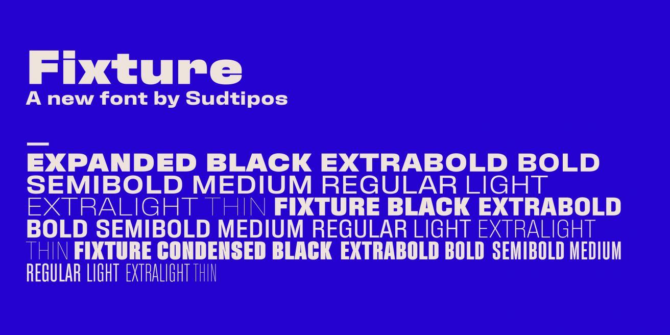 Fixture Poster