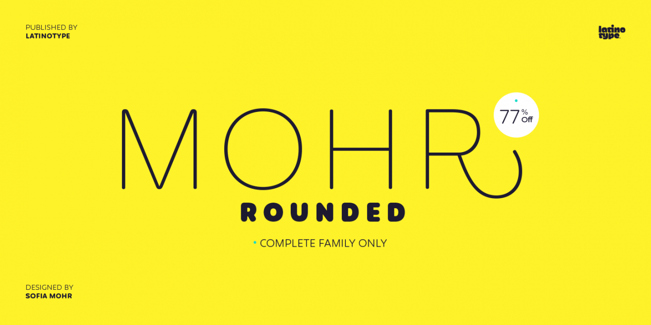 Mohr Rounded Poster