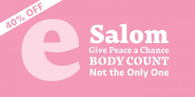 Salom Poster