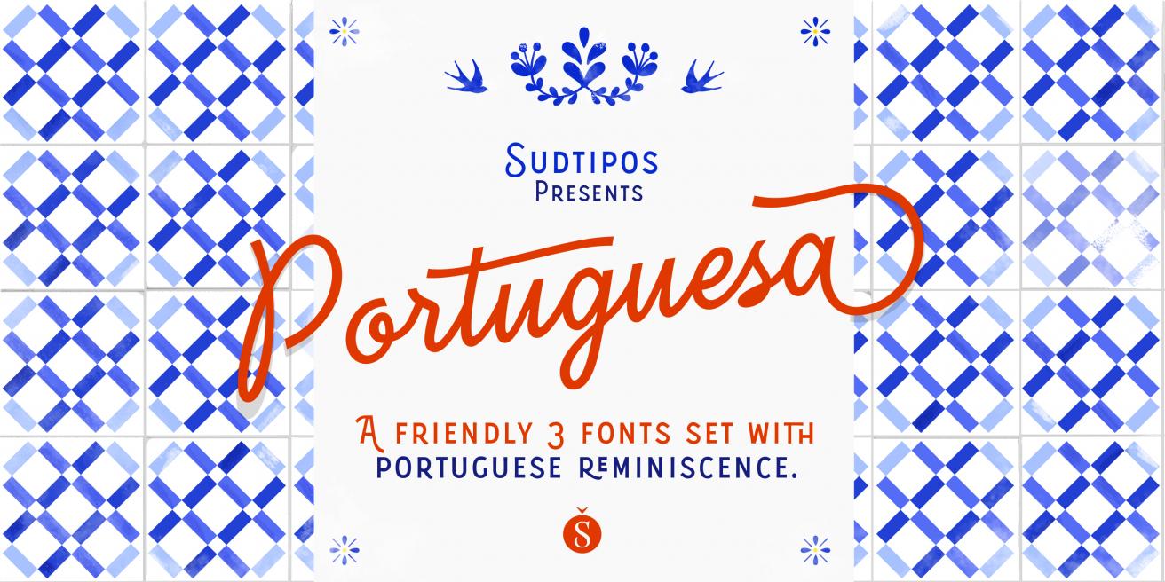 Portuguesa Set Poster