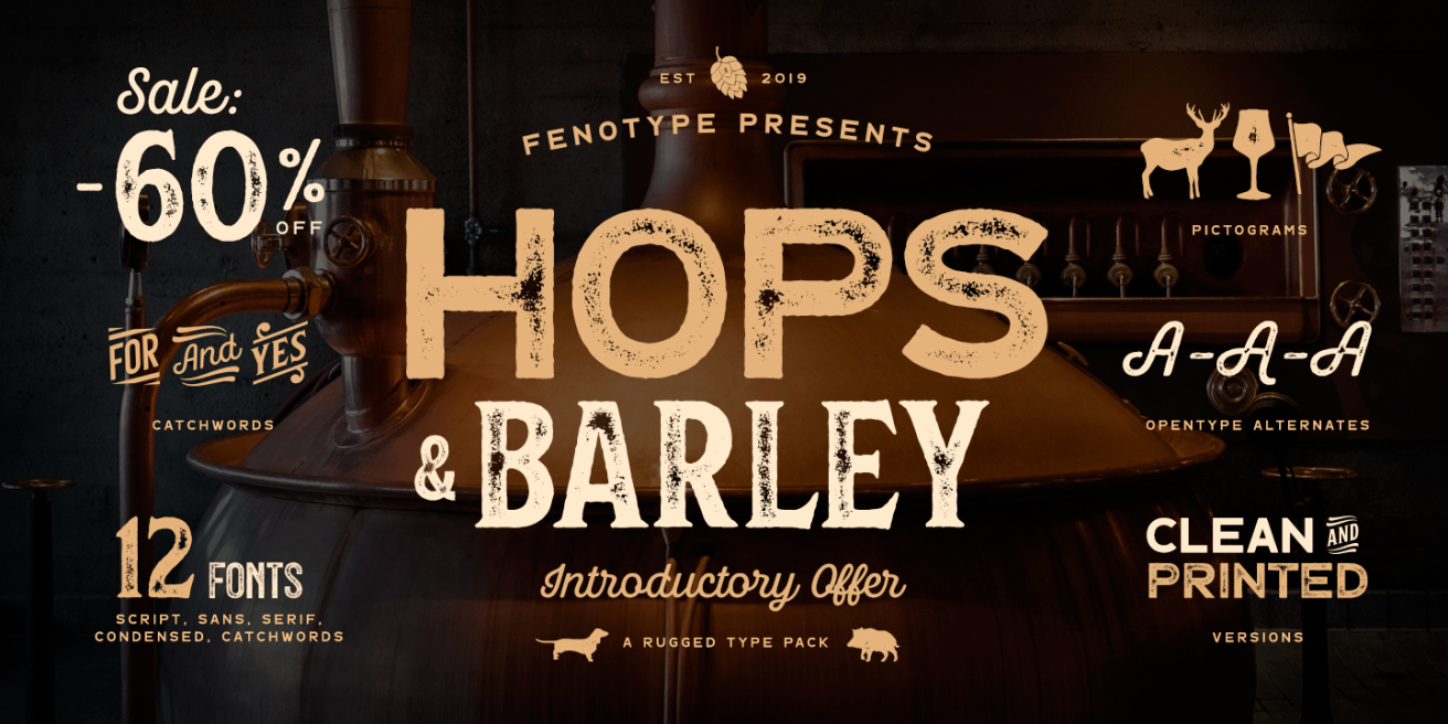 Hops And Barley Poster