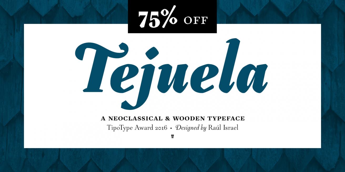 Tejuela Poster