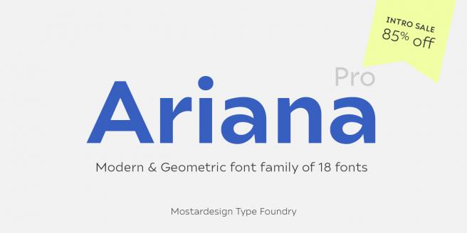 Ariana Pro Poster