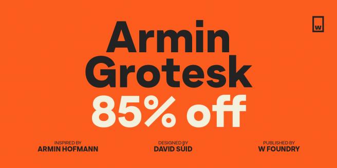 Armin Grotesk Poster