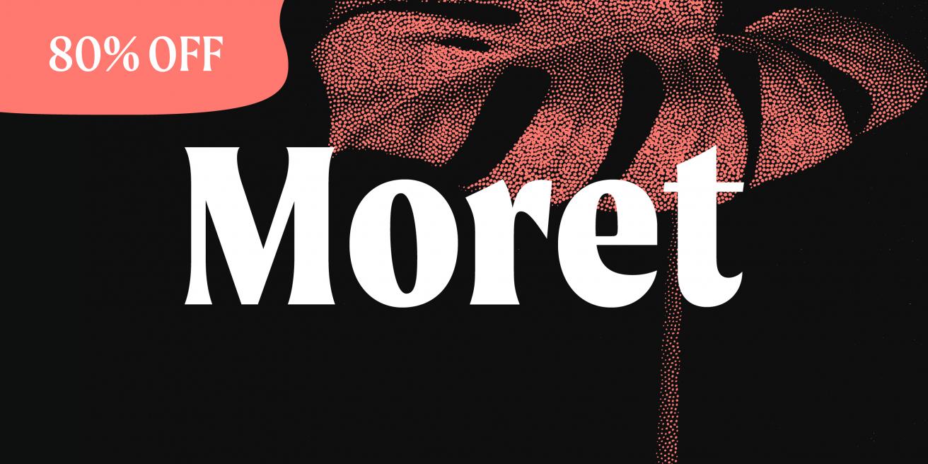 Moret Poster