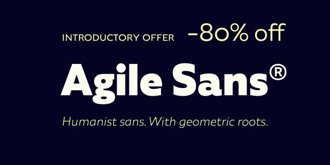 Agile Sans Poster