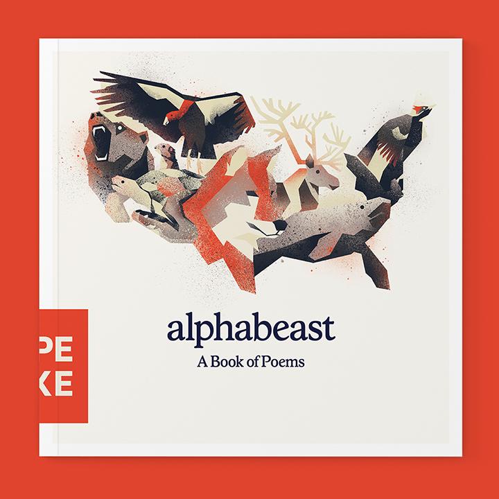 Type Hike Alphabeast book