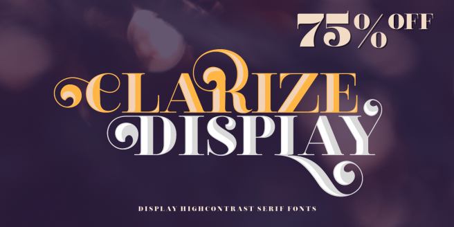 Clarize Display Poster
