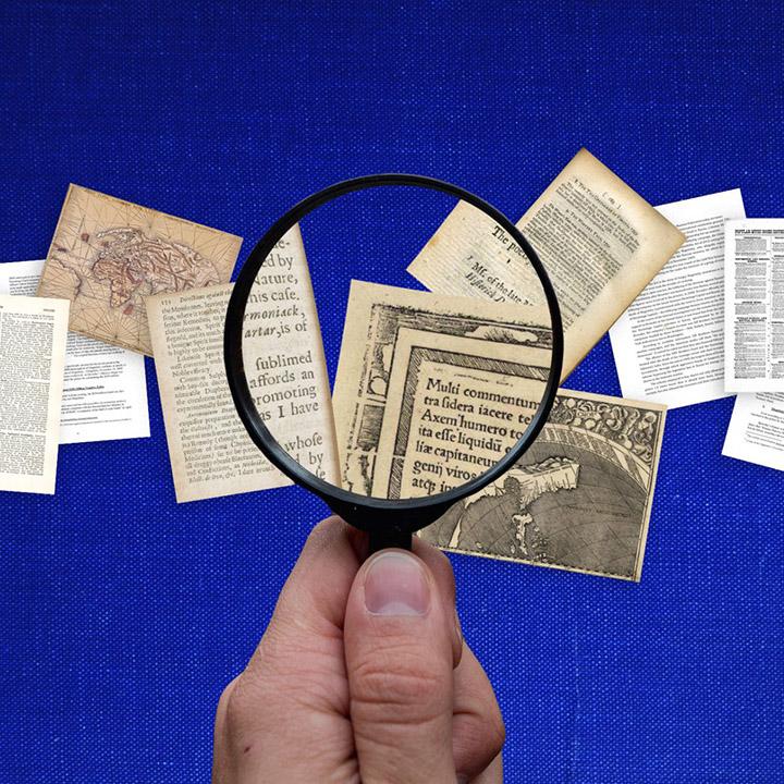Font detectives
