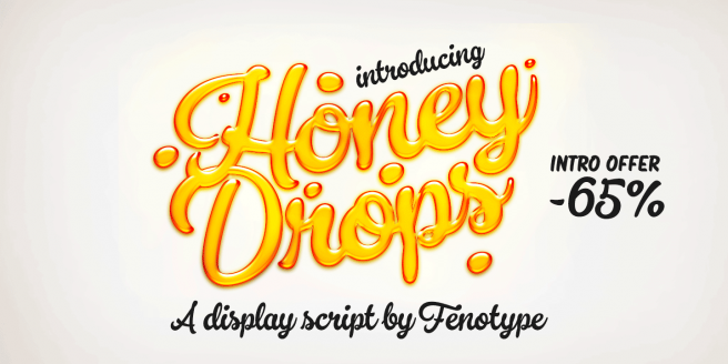 Honey Drops Poster