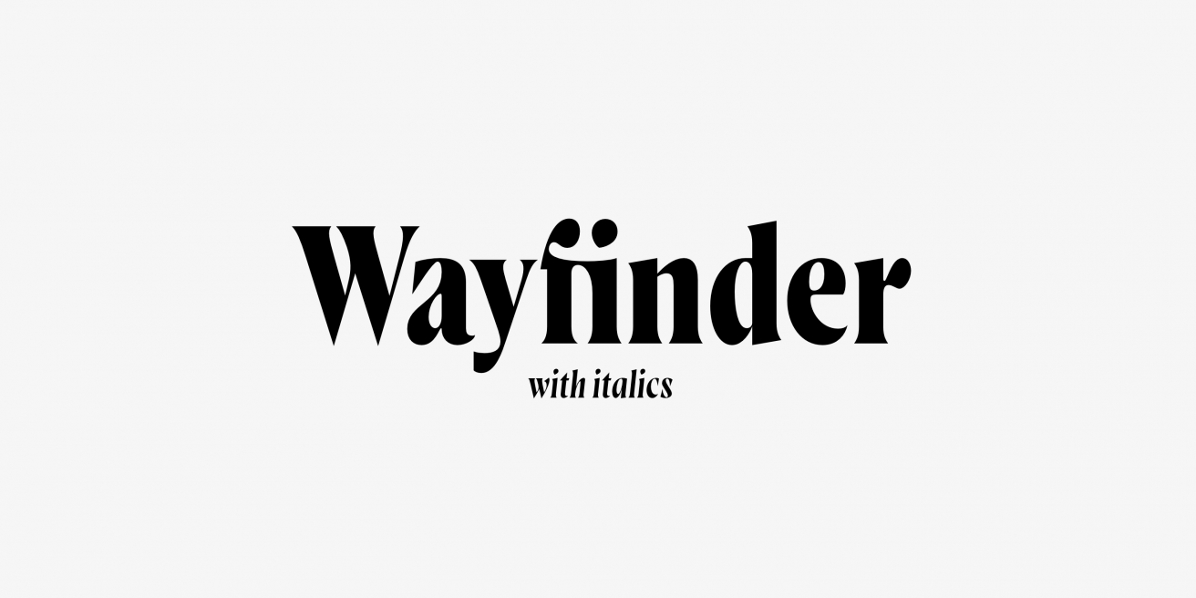 Wayfinder CF Poster