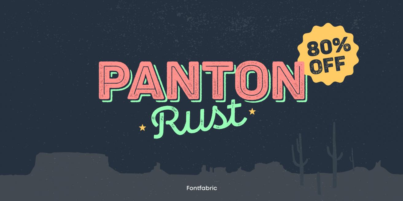 Panton Rust Poster