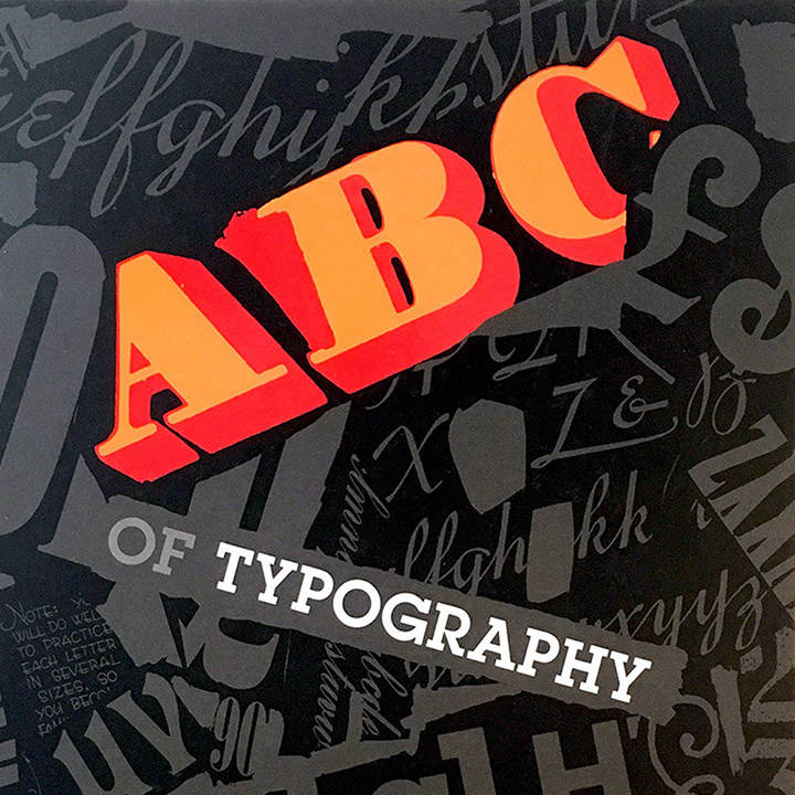 <i>ABC of Typography</i> graphic novel