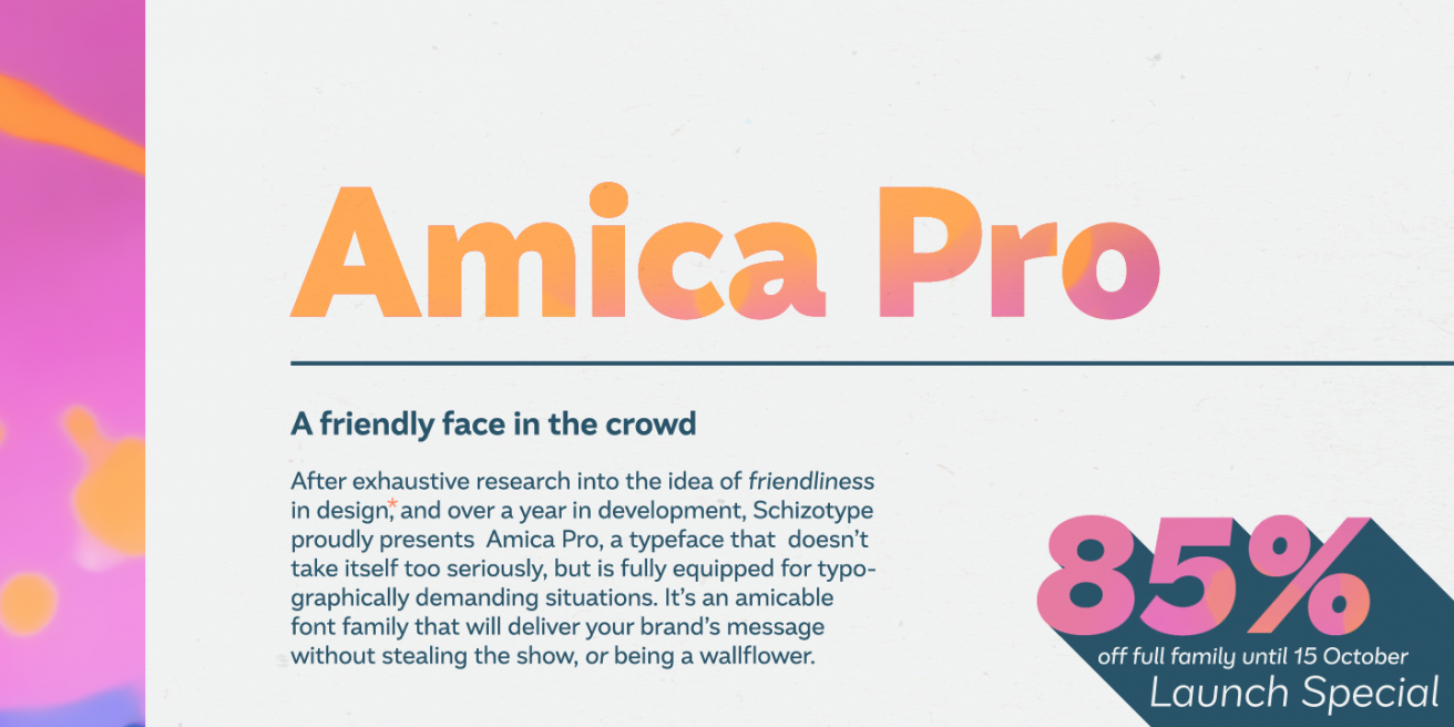 Amica Pro Poster