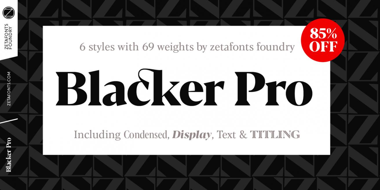 Blacker Pro Poster