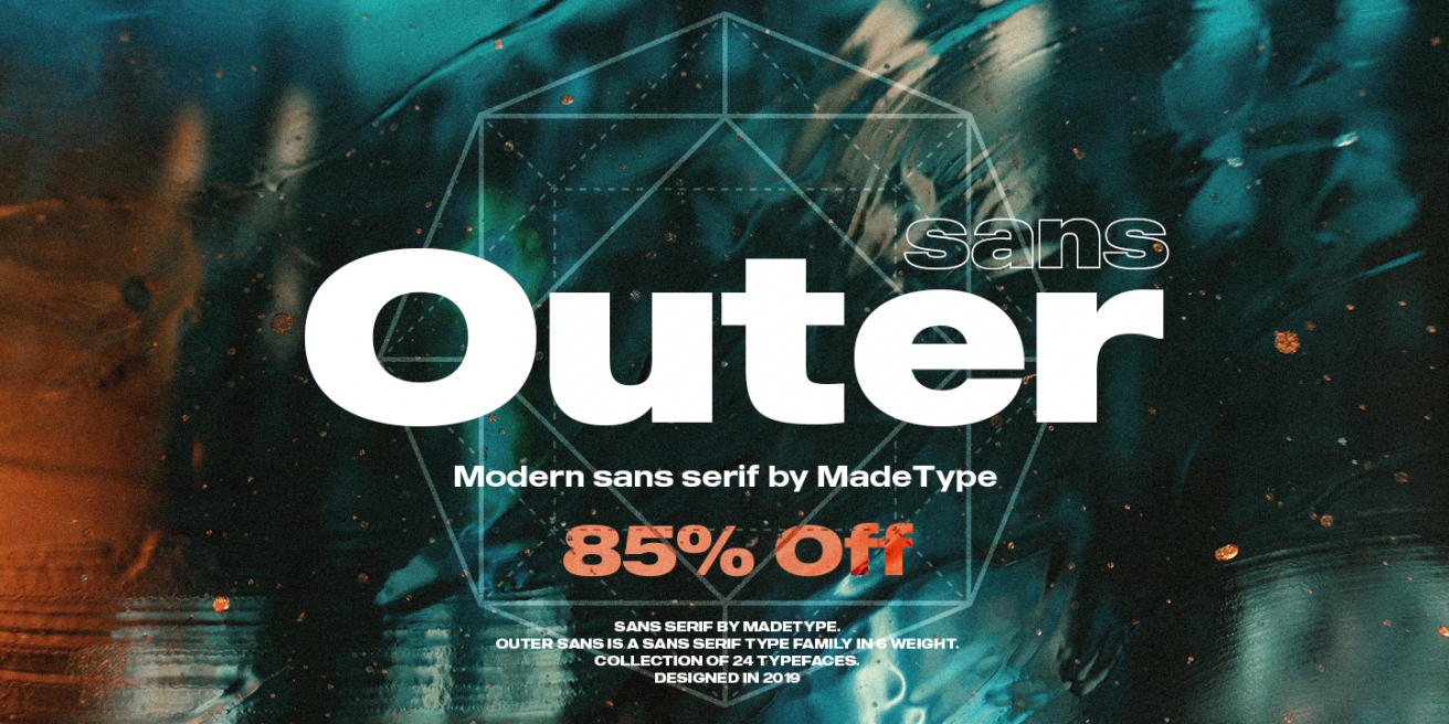 MADE Outer Sans Poster