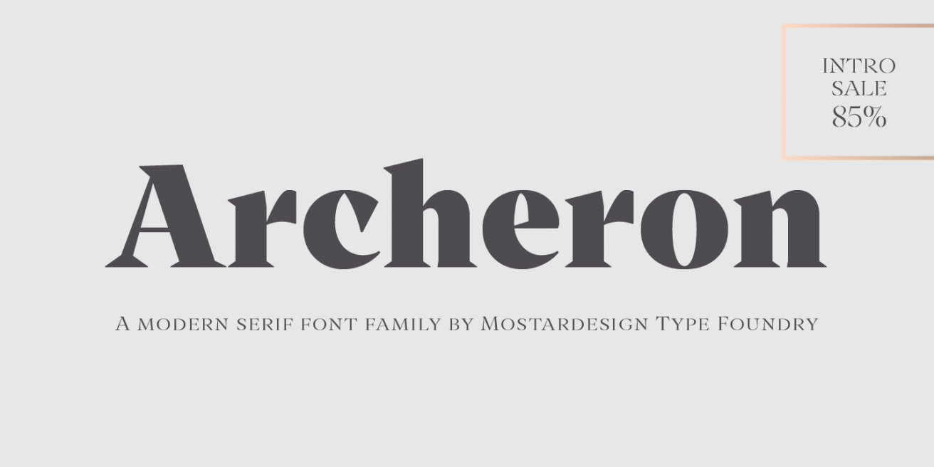 Archeron Pro Poster